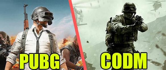 PUBG ou Call of Duty Mobile